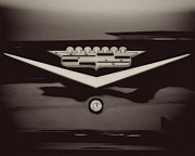 Caddy Prints - Vintage Cadillac Emblem Print by Lisa Russo