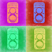 Featured Art - Vintage Camera Pop Art 3 by Irina  March