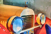 Stimulation Digital Art Posters - Vintage Car 1 Poster by Yury Malkov