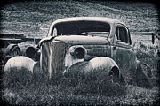 Chev Prints - Vintage Car at Bodie Print by Kelley King