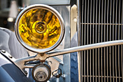 Retro Car Photos - Vintage car light by Delphimages Photo Creations