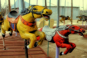 TONY GRIDER - Vintage Carousel Horses 014