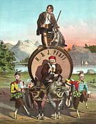 Vintage Celebrity Endorsement 1870 Print by Padre Art
