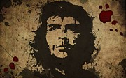 Che Guevara Prints - Vintage Che Print by Sanely Great