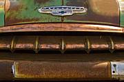 Vintage Chevy 2 Print by Nancy  de Flon