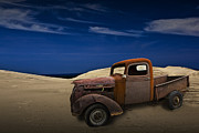 Randall Nyhof - Vintage Chevy Pickup on the Dunes