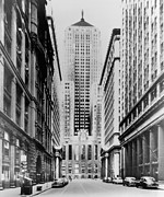 Chicago Board Of Trade Prints - Vintage Chicago Board of Trade Print by Horsch Gallery