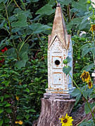 Animal Shelter Digital Art - Vintage Classic - Birdhouse by Ella Kaye