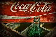 Coke Bottle Prints - Vintage Coca-Cola Print by Paul Ward