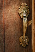 Patrick Shupert Metal Prints - Vintage Door Handle Metal Print by Patrick Shupert