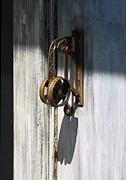 Knob Posters - Vintage Door Handle Poster by Viktor Savchenko