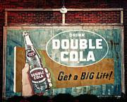 TONY GRIDER - Vintage Double Cola Sign