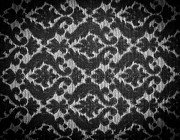 Tim Hester - Vintage Fabric Black and...