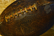 Pigskin Prints - Vintage Football Print by Paul Ward
