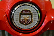 Name Prints - Vintage Ford 861 Powermaster Tractor Badge Print by Paul Ward