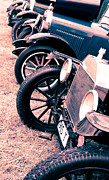 Ford Model T Car Photo Prints - Vintage Fords Print by Phil