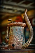 Can Prints - Vintage Garage Oil Can Print by Paul Ward