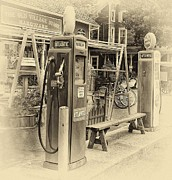 Pumps Originals - Vintage Gas by Arnie Goldstein