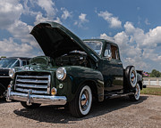 Gmc Framed Prints - Vintage GMC Pickup Framed Print by Ryan Bloomfield