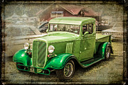 Perry Webster - Vintage Green Pickup