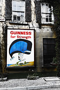 Guiness Posters - Vintage Guinness Sign  Poster by George Oze
