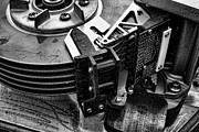 Vintage Hard Drive Print by Olivier Le Queinec