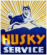 Karyn Robinson - Vintage Husky Sign