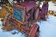 Machinery Photos - Vintage John Deere by Inge Johnsson