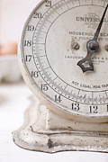 Weigh Photos - Vintage Kitchen Scale by Edward Fielding