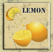 Lori Malibuitalian - Vintage Lemon Label