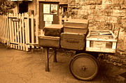 Linsey Williams - Vintage Luggage Cart