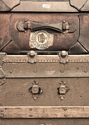Den Decor Photo Prints - Vintage Luggage No. 2 Print by Brooke Ryan