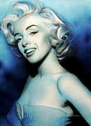 'vintage Marilyn' Print by Christian Chapman Art