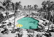 Miami Tapestries Textiles - Vintage Miami by Andrew Fare