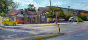 Colorado Paintings - Vintage Motors by Athena  Mantle