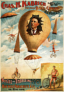 Fantasy Art - Vintage Nostalgic Poster - 8036 by Wingsdomain Art and Photography