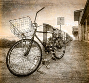 Singer Photos - Vintage Ol Bike by Debra and Dave Vanderlaan