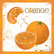 Lori Malibuitalian - Vintage Orange Grunge