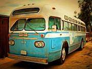 Wingsdomain Art and Photography - Vintage Passenger Bus 5D28394brun