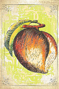 Wall Decor Licensing Posters - Vintage Peach Print Poster by Anahi DeCanio