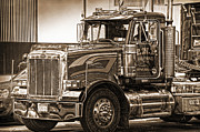 Truck Prints - Vintage Peterbilt truck Print by RicardMN Photography