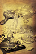 Silver Necklace Art - Vintage Photographs by Christopher and Amanda Elwell