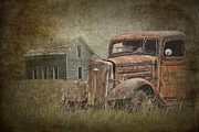 Randall Nyhof - Vintage Pickup Wreck on an Abandoned Farm