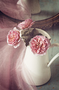 Vintage Pink Print by Amy Weiss