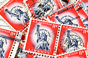 Dick Wood - Vintage postage stamps