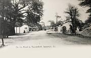 Patricia Hofmeester - Vintage postcard of 1905 of Savannah Georgia USA