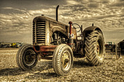 Oliver Tractor Framed Prints - Vintage Power Framed Print by Rob Hawkins