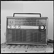 Equipment Photo Originals - Vintage Radio by Marco Oliveira