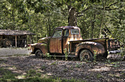 Vintage Truck Photos - Vintage Rust by Benanne Stiens