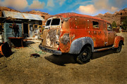 Brenda Giasson - Vintage Rusty Chevy Panel Truck